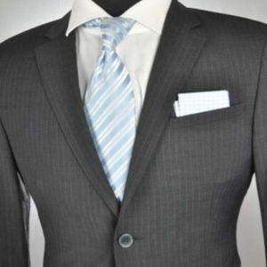 Recent* Dolce & Gabbana Gray Modern 2Btn Suit